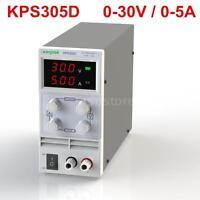 3 Digits LED 0~30V 5A Mini DC Power Supply Adjustable US Plug 110V 60Hz NEW N1S2