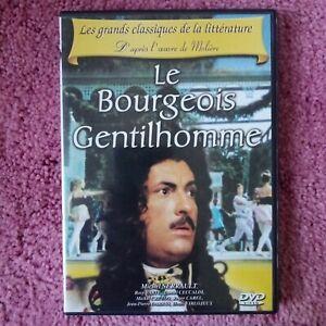 dvd film Le Bourgeois gentilhomme avec Michel Galabru et Rosy Varte