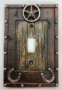 Lodge Cabin Decor Star Horseshoe