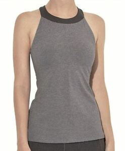 LUCY-Inner-Light-Top-High-Neck-Halter-Sports-Bra-Tank-Dance-Yoga-NWT-Womens-Sz-S