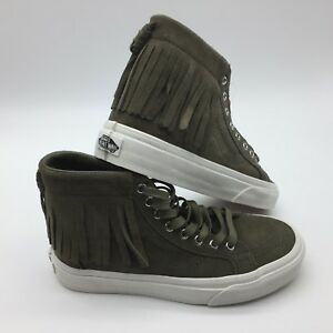 770da9258d Vans Men s Shoes   Sk8 Hi Moc--(Suede)--Ivy green blanc D