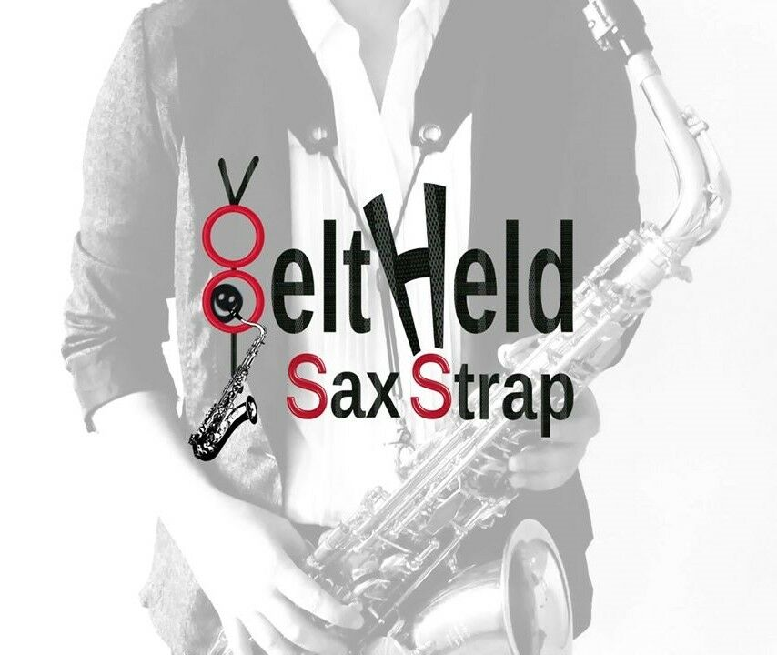 BeltHeld Sax Strap, Small Classic Loop Harness for sax & bass clarinet