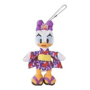 Daisy-Duck-big-size-stuffed-toy-badge-yukata-kimono-summer-festival-Tokyo-Di-F-S