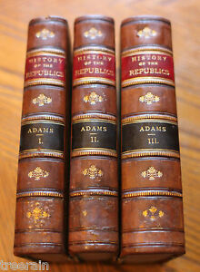 1794-ADAMS-Defence-US-CONSTITUTION-Declaration-Independence-Antique-Books-Book-1