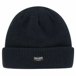 Image is loading Black-Thinsulate-Kids-Beanie-Hat-Thermal-Unisex-Winter- f0c18da79ad