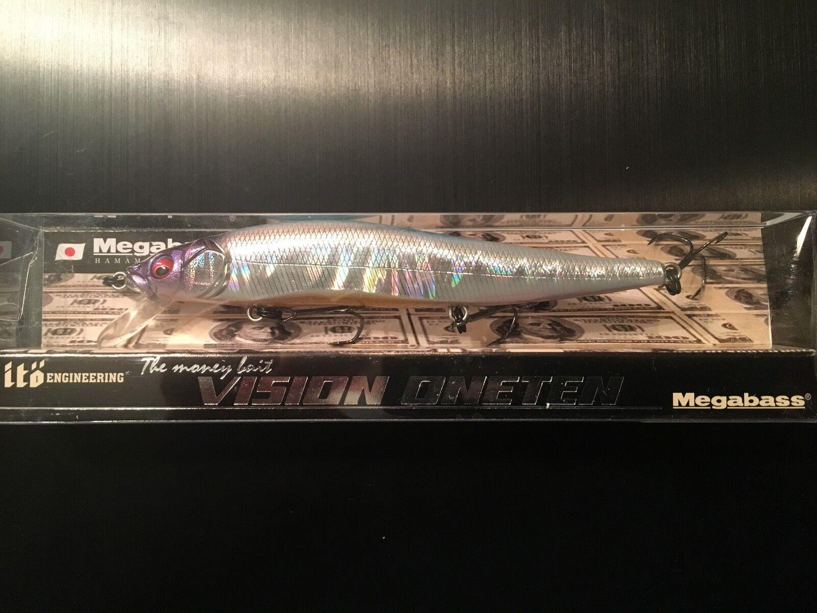 Megabass Vision 110 OneTen  Nanko Reaction NIB super rare  new products novelty items