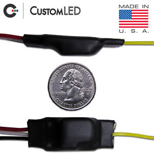 Details about Blinker Genie - for MOTORCYCLES  Converts 2-wire LED to  3-wire = Run and Turn!