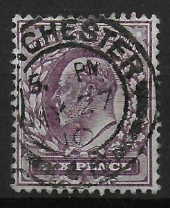 SG248-6d-Dull-Purple-Chalky-Fine-Used-Very-Good-Condition-Cat-20-Ref-0516