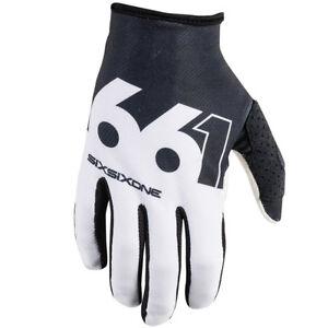 Hombre-661-Comp-Tira-MTB-Motocross-Mx-Bicicleta-Bici-Guantes-Negros-blanco