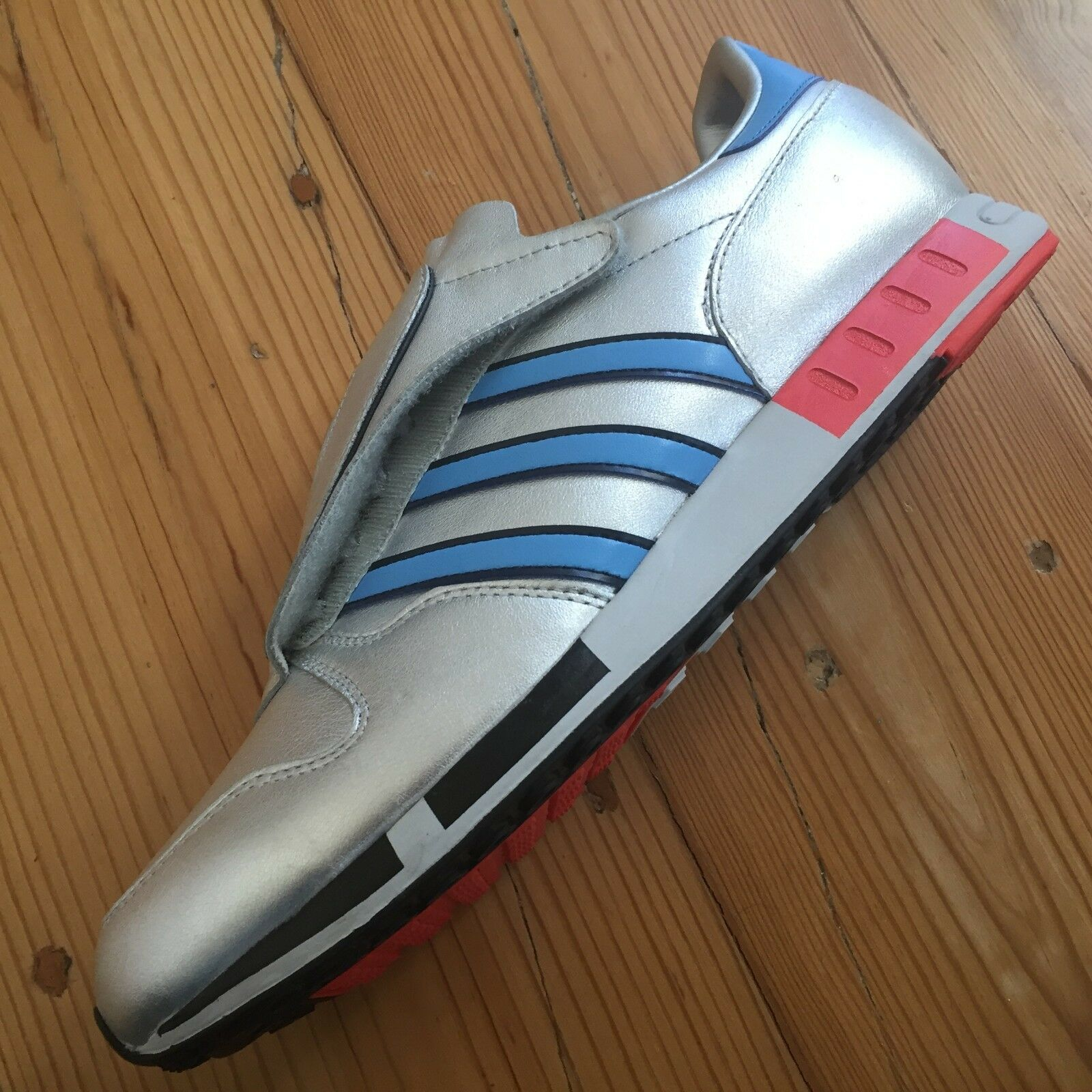 Adidas Micropacer OG 30th Anniversary US 10 Metallic Silver DS C75569