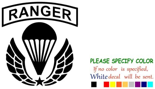 "US Army Ranger Airborne  Funny Vinyl Decal Sticker Car Window laptop tablet 6/"""