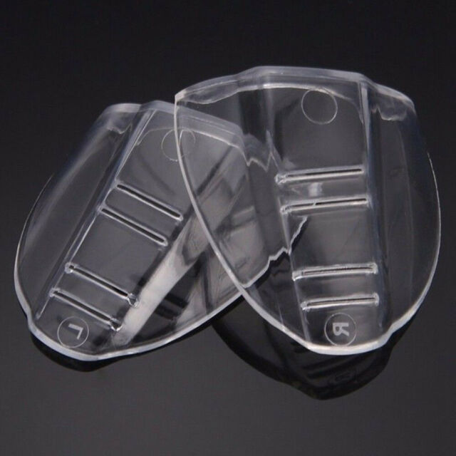 1 Pair Eye Protective Flexible Clear Safety Goggles Side Shields Chic
