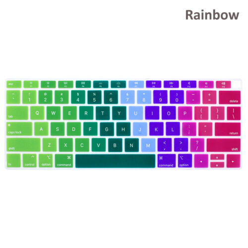 Laptop Keyboard Cover Silicone Skin Film For MacBook Air 13 2018 Release A1932