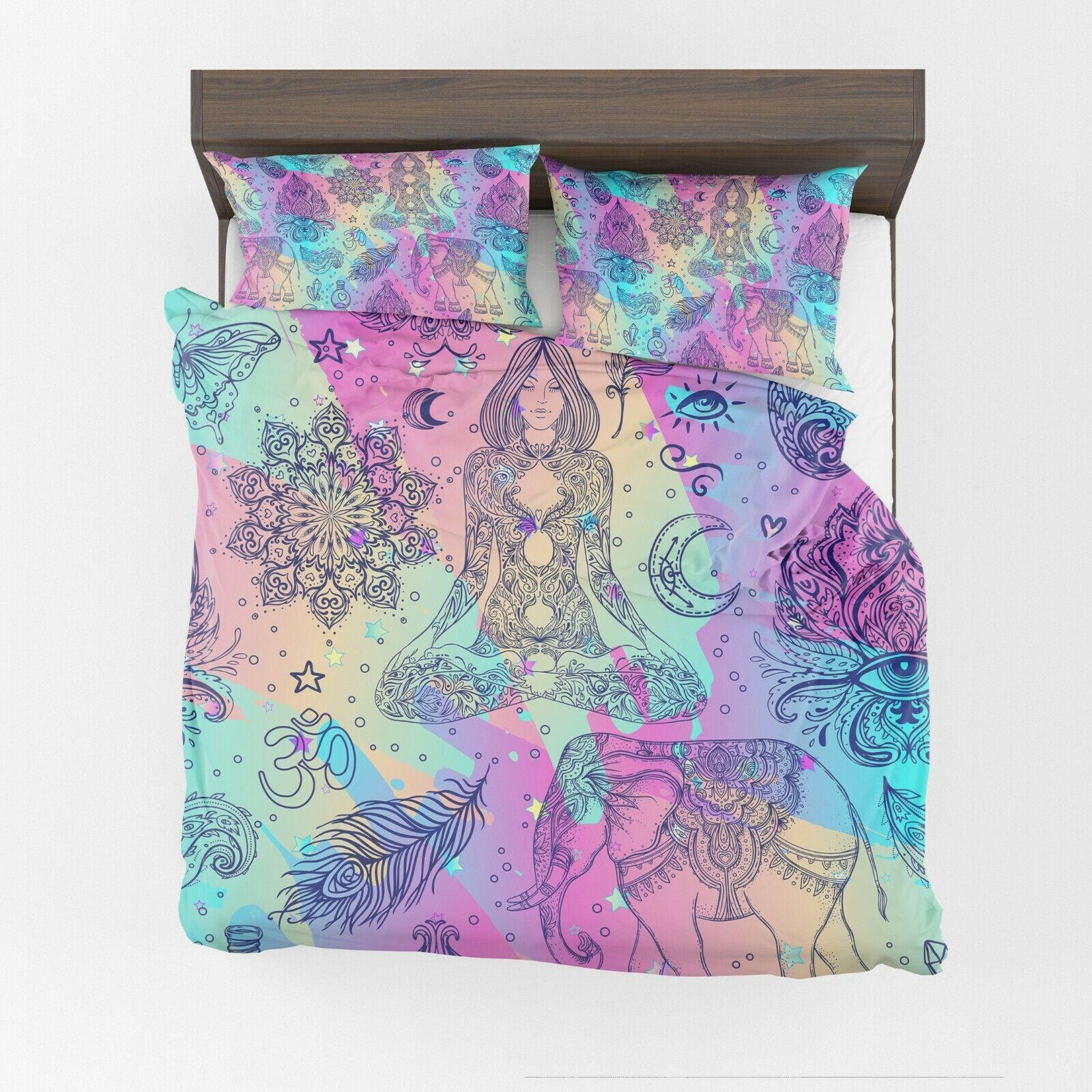 Boho Dreams Comforter or Duvet Cover hippy bedding boho bedding spiritual duvet