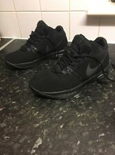Nike Air Visi Pro 5 Nubuck Men's Black Basketball Shoes 653664 003. Uk8.eu42.5