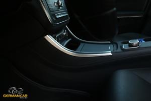 Fuer-Mercedes-A-CLA-und-GLA-Chrom-Rahmen-Blende-Mittelkonsole