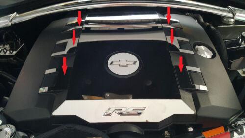 2010-2015 5th Gen Camaro V6 Engine Cover 6-Piece Inserts