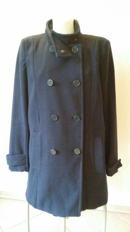 A-förmig Geschnittener Mantel Von Mango ♡ Mng Suit ♡ Blau ♡ Gr. S/m ♡ Einfach Zu Verwenden