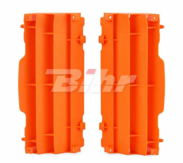 42901: POLISPORT Aletines de radiador Polisport KTM naranja 8455300002