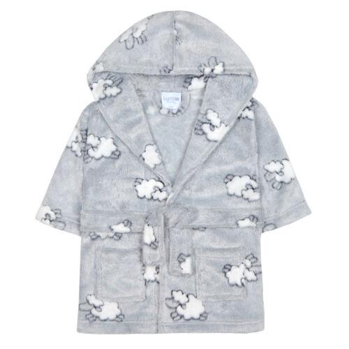 Bébé filles en polaire à capuche robe de chambre supersoft peignoir serviette bébé mois