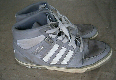 rotación Descarte Sermón  Adidas EVH 791004 Shoes Mens Size 8 M High Top Sneakers Gray White | eBay