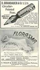 1909 Florasma Exquisite Delightful F Wolff And Sohn C Brandauer Ad