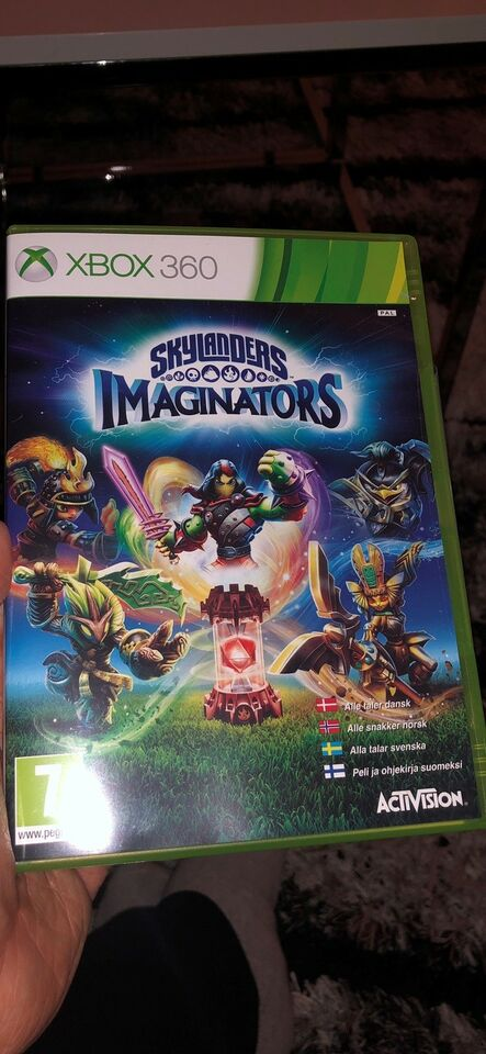 Skylanders imaginators, Xbox 360, action