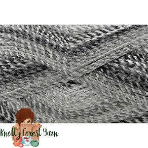 Major-Bulky-Universal-Yarn-GRAPHITE-Acrylic-5-Bulky-Weight-393yd-200gr-Gray