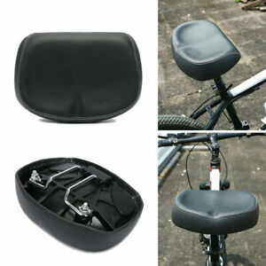 Cycling MTB Bike Big Ass Seat Pad Noseless Bicycle Saddle Wide Large