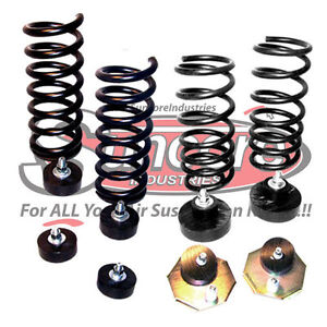 1984 1987 lincoln continental air suspension air to coil spring conversion kit ebay. Black Bedroom Furniture Sets. Home Design Ideas
