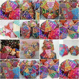 10-Pcs-Wholesale-Lot-Handmade-Attractive-Parasols-Bridal-Home-Garden-Decor
