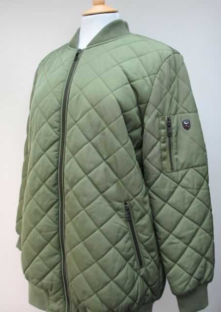 022a802c1 New Ladies 1 Madison Expedition Quilted Bomber Jacket Coat S M L BNWT