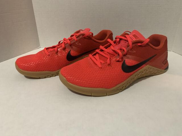 Nike Metcon 4 XD Red Orbit Black Mystic Red Training Shoe Crossfit Mens 11 NEW