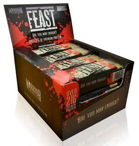 Warrior-Feast-Haut-proteines-crepe-EPAISSE-BARRE-x-1-Savoureux-repas-rechange