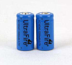 Ultrafire-3-7V-1200mAh-16340-Rechargeable-Li-Ion-Battery-Batteries-CR123A-2pcs