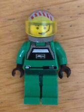Lego Minifigure Head Star Wars Gray Squadron Pilot H109