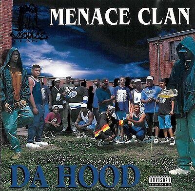 MENACE CLAN DA HOOD 1995 OOP 1ST PRESS CD! BUSHWICK BILL SCARFACE RAP-A-LOT