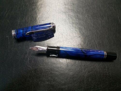 medium Pelikan Füllhalter Kugelschreiber Souverän M805 Blue Dunes M NEU!