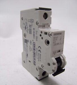 230//400V 10KA Siemens 5SY4110-7 1 Pole 10 Amp /'C/' Curve MCB Brand New