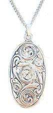 Celtico Protezione Ciondolo Realizzato artigianalmente in Peltro Massiccio