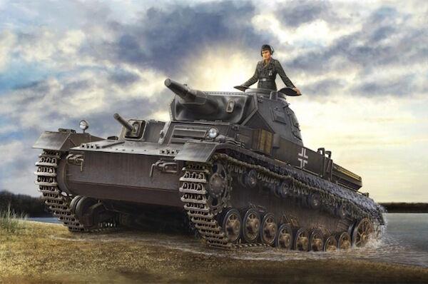 Hobbyboss 1 35 German Panzerkampfwagen IV Ausf D   TAUCH Plastic Model
