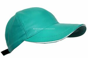 Leather Lane Unisex Peak Hat White Soft Cap Baseball Hip Silky Green hop wxq0I77Fg