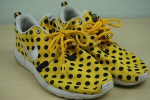 Nike-Roshe-Run-Polka-Dot-Yellow-Pack-Mens-Running-Shoes-Sz-10-5