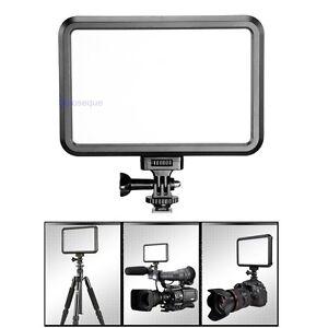 Panel-Iluminacion-Lampara-Luz-LED-Videocamara-Camara-DSLR-For-Canon-Pentax-Nikon