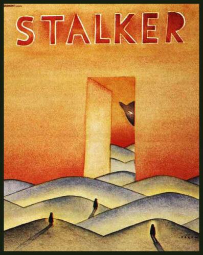 Men/'s Ladies T SHIRT retro movie film STALKER Tarkovsky 70s fantasy