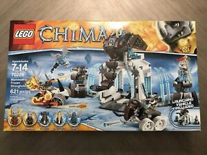 LEGO 70226 Legends of Chima Mammoth/'s Frozen Stronghold New Sealed