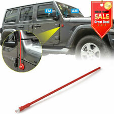 "13/"" Replacement Radio AM FM Signal Antenna Reflex for Jeep Wrangler JK 2007-2017"