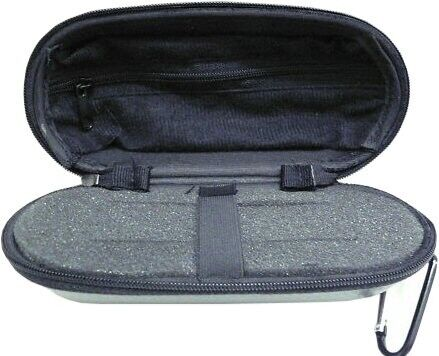 TULIP w// Zippered Case Imported Miniature Meerschaum Pipe