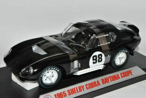 Ford Shelby Cobra Daytona Coupe Nr 98 Schwarz Matt 1965 1//18 Shelby Collectibles