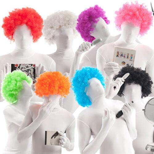 Morphsuit Parrucca grande per costume 11 COLORI Ricci Afro da Morphsuits